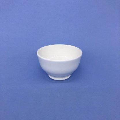 White Bone China Sugar Bowl