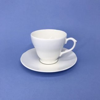 White Bone China Tea Cup