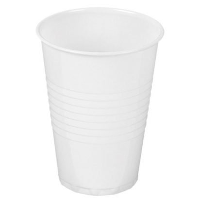 White Vending Cup 100 Pack