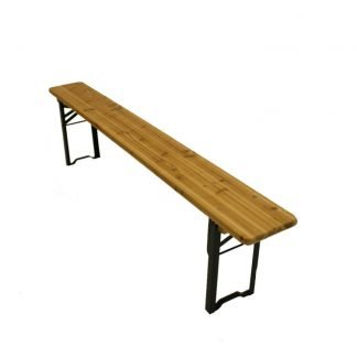 Wooden Bench 6ft With Folding Legs