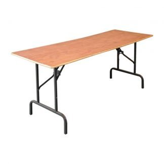 Wooden Trestle Table 6 Foot x 2 Foot